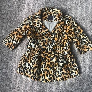 Very cute Forever 21 cheetah blazer size M